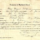 Mary Margaret McGinnis - Baptism Record