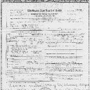 Leona May Edgar - Washington State Death Certificate