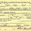 Charles Dewitt Miller - World War II Draft Registration