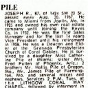 Joseph R Pile - Find a Grave